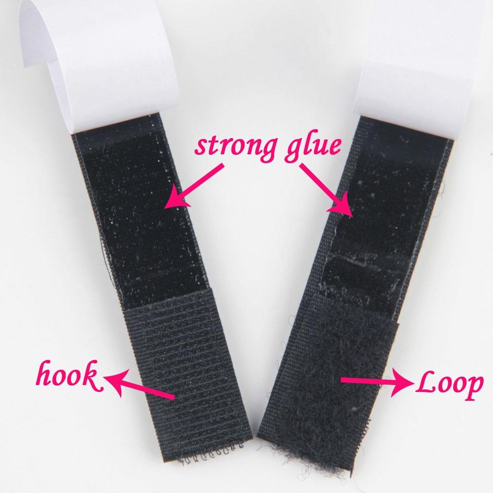 16mm 20mm 25mm*1M/Pairs Black White Magic Tape Hook Loop Fastener Magic Tape Nylon Sticker Self Adhesive Disks Tape Strong Glue