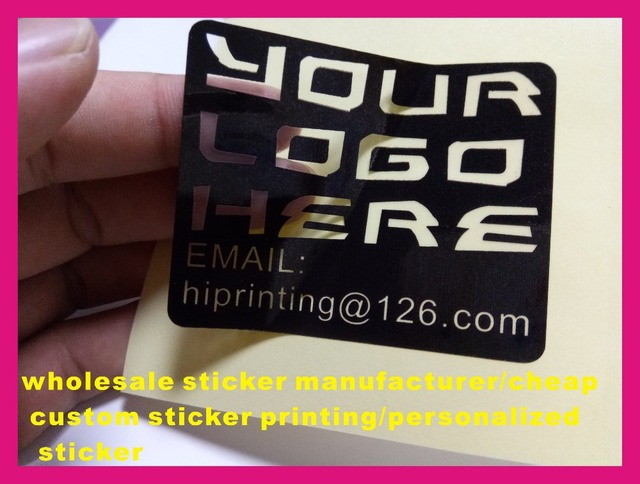 Custom Sticker Manufacturer