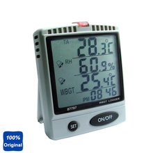 Best price Desktop Humidity Temperature Meter WBGT Tester with SD Card Datalogger AZ-87797