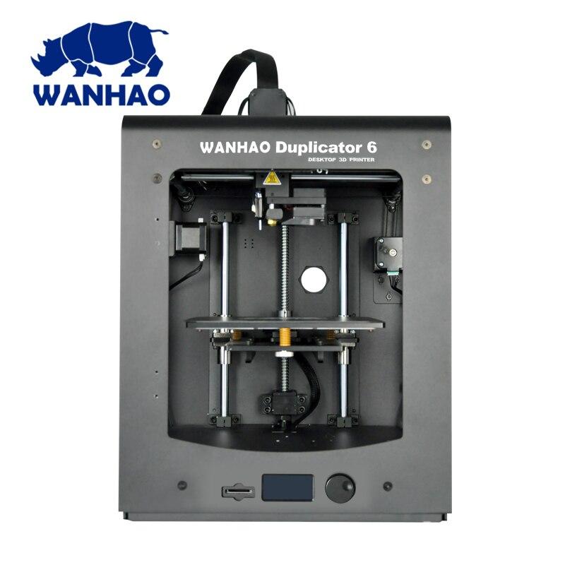 Top vente 3D imprimante Wanhao D6 PLUS DIY 3d imprimante avec plus stable performance vitesse d'impression rapide et reprendre impression