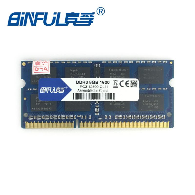 Prix pour Marque Sealed DDR3 8 GB 1600 Mhz 1.5 v SODIMM Mémoire Ram memoria ram Pour Ordinateur Portable Portable Garantie À Vie