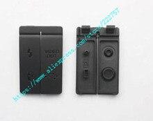 Nouveau capuchon dinterface USB/sortie vidéo/couverture en caoutchouc pour canon 40D