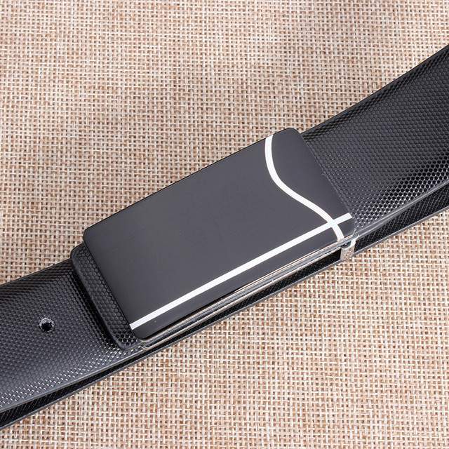 New Brand Designer Belts Men High Quality Cowhide Young Fashion Leather Buckle Men Belt Luxury Bussiness Casual freeshipping