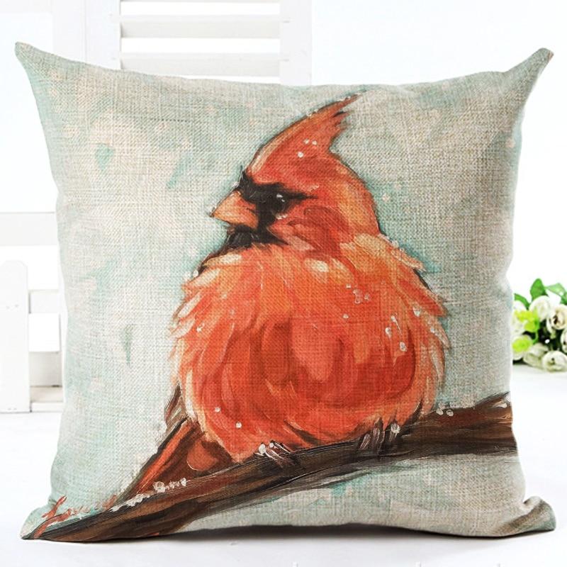 2016 Hot Πώληση Bird Αρχική Διακοσμητικά - Αρχική υφάσματα - Φωτογραφία 3
