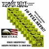10 Pack Original Ernie Ball Regular Slinky 10 46 Electric Strings 2221 10 SETS