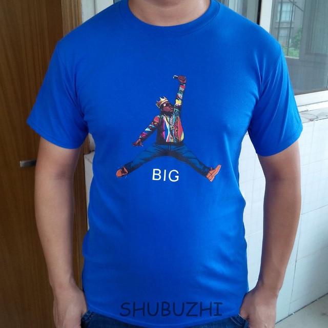 03110fd06f812f the notorious b.i.g jumpman biggie t shirt men America hiphop rock star t  shirt Biggie Smalls tee shirt