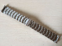 22mm T086407A T086408 New Watch Parts Male Solid Stainless steel bracelet strap Watch Bands For T086