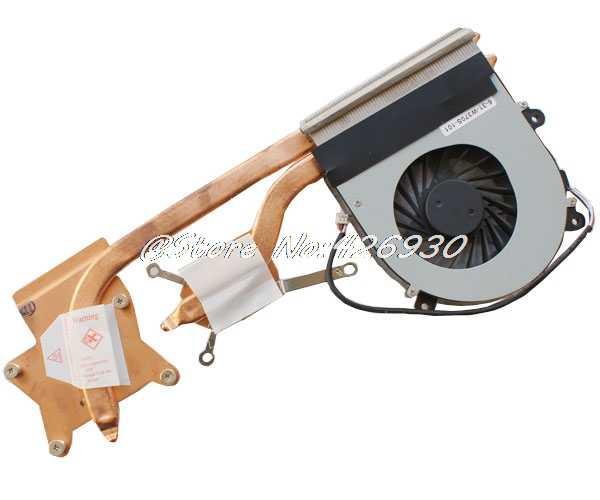 Kipas Pendingin CPU dan Heatsink untuk CLEVO W370SS W370SK Maingear B15 B15V9