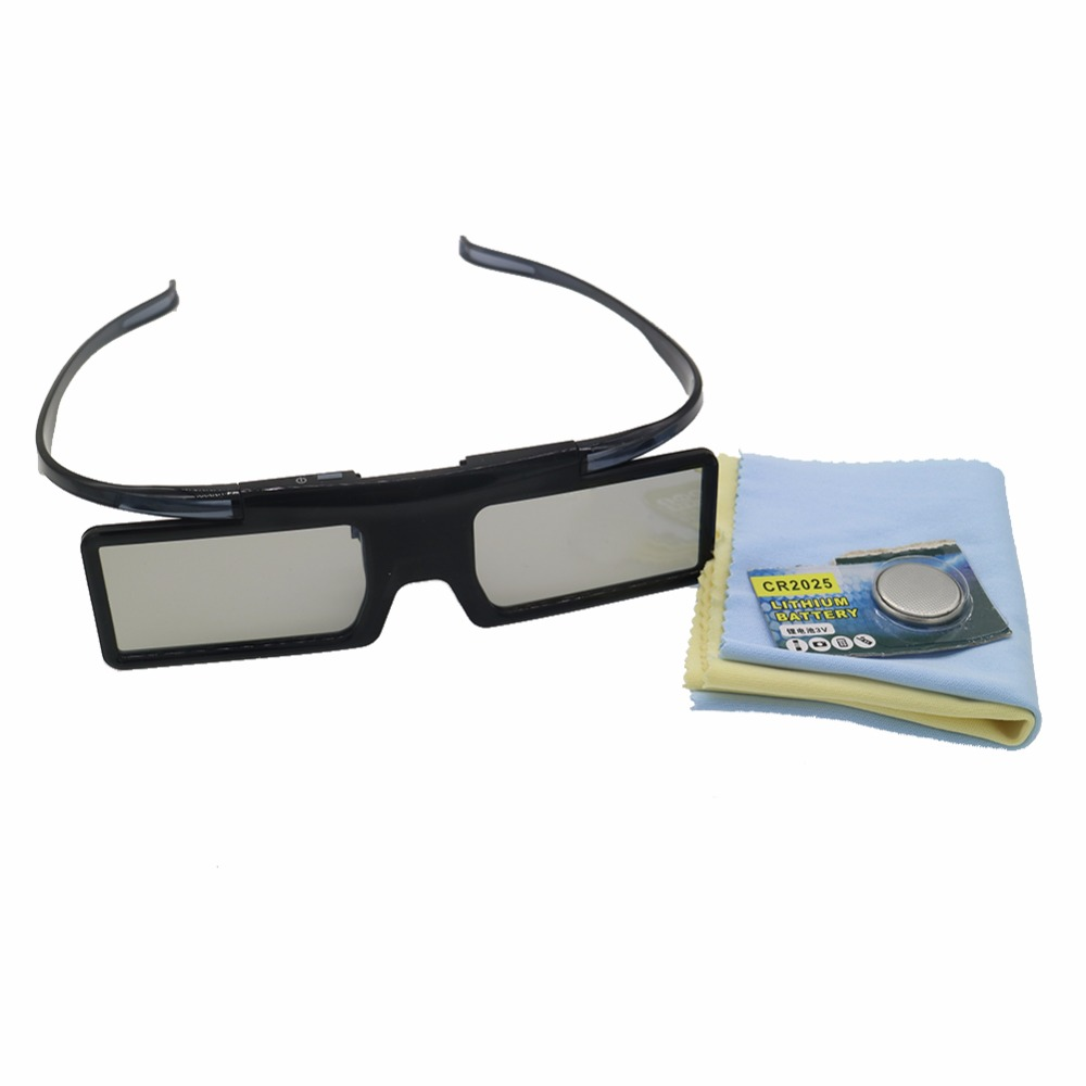 2pc replacement GX-21AB Active Shutter Universal 3D Glasses For Samsung for Panasonic for TCL 3D TV
