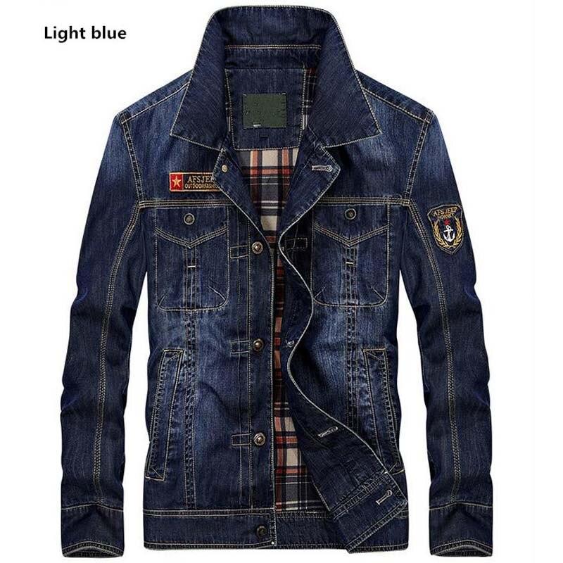 ea076618438b3 Haft list denim jacket casual style moda regularne szczupły mężczyzna kurtka  płaszcz nowy 2017 jesień wiosna clothing męskie odzieży wierzchniej