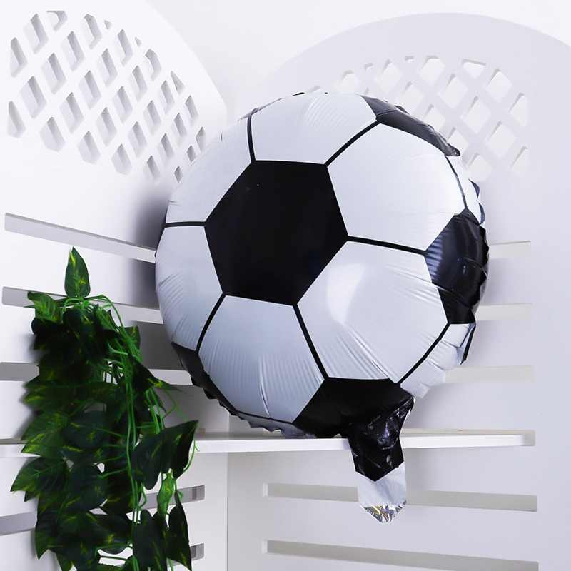 1 Pcs 18 Inch Round Football Aluminum Balloon Ball Party Decoration  Children's Toys Wholesale