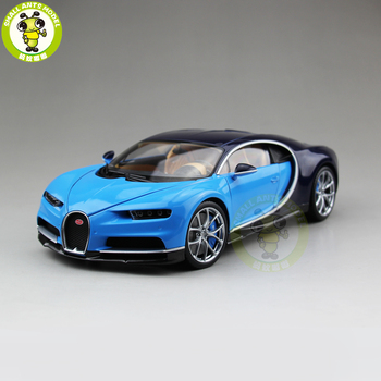1/18 Chiron 2016 Super Car Welly GTAUTOS Diecast Metal Car Model Boy Girl Birthday Gift Collection Hobby