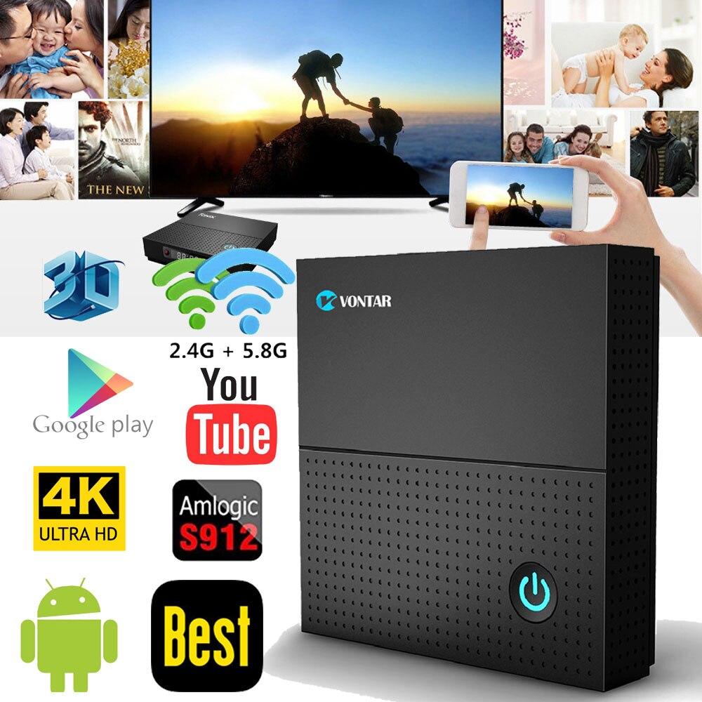 TX92 3 GB/64 GB 3 GB/32 GB 2 GB/16 GB Android 7.1 Smart TV Box Amlogic S912 Octa Core CPU Dual Wifi 4 K H.265 Set Top Box pk T95Z Plus