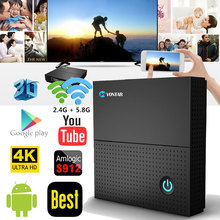 TX92 3GB/64GB 3GB/32GB 2GB/16GB Android 7.1 Smart TV Box Amlogic S912 Octa Core CPU Dual Wifi 4K H.265 Set Top Box Tanix TX92