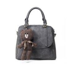 2016 New Autumn Winter Fashion Crossbody Bag for Women Leather Handbags Ladies Casual Shoulder Bag Messenger Bags