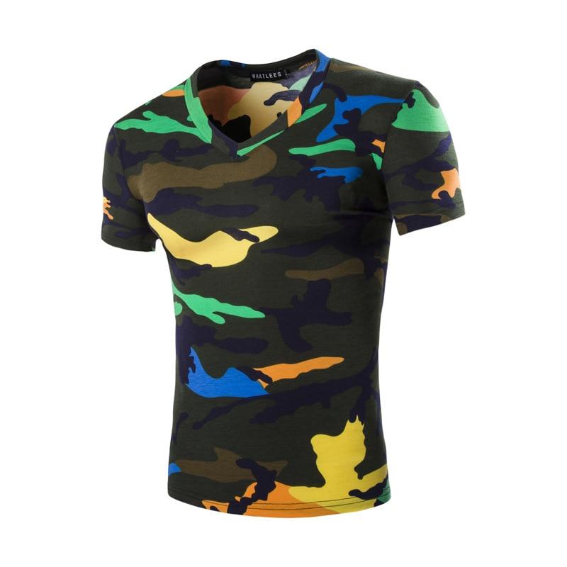 Aliexpress.com : Buy Brand New Tshirt Men Camouflage 2017 Summer ...