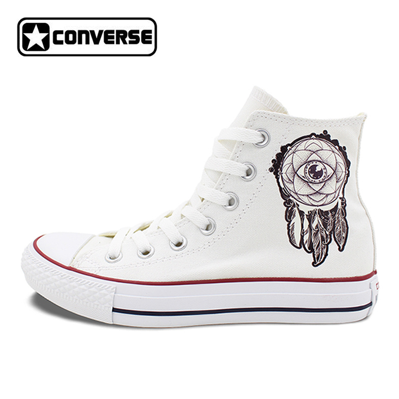 Converse All Star High Top Shoes for Men Women Dreamcatcher Design Flats Lace Up Canvas Sneakers for Gifts converse all star high top shoes for men women dreamcatcher design flats lace up canvas sneakers for gifts