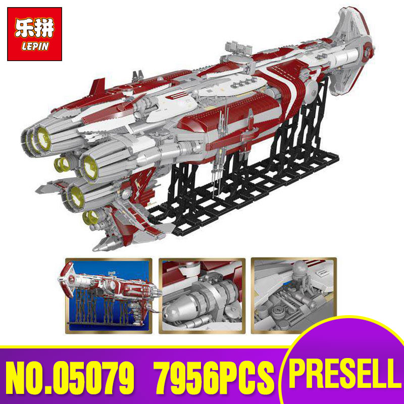 DHL Lepin 05079 Legoing Star Plan War Series The MOC Zenith Old Republic escort cruiser Set Building Blocks Bricks Kids Toy Gift dhl lepin 05055 star series military war the rogue one usc vader tie advanced fighter compatible 10175 building bricks block toy