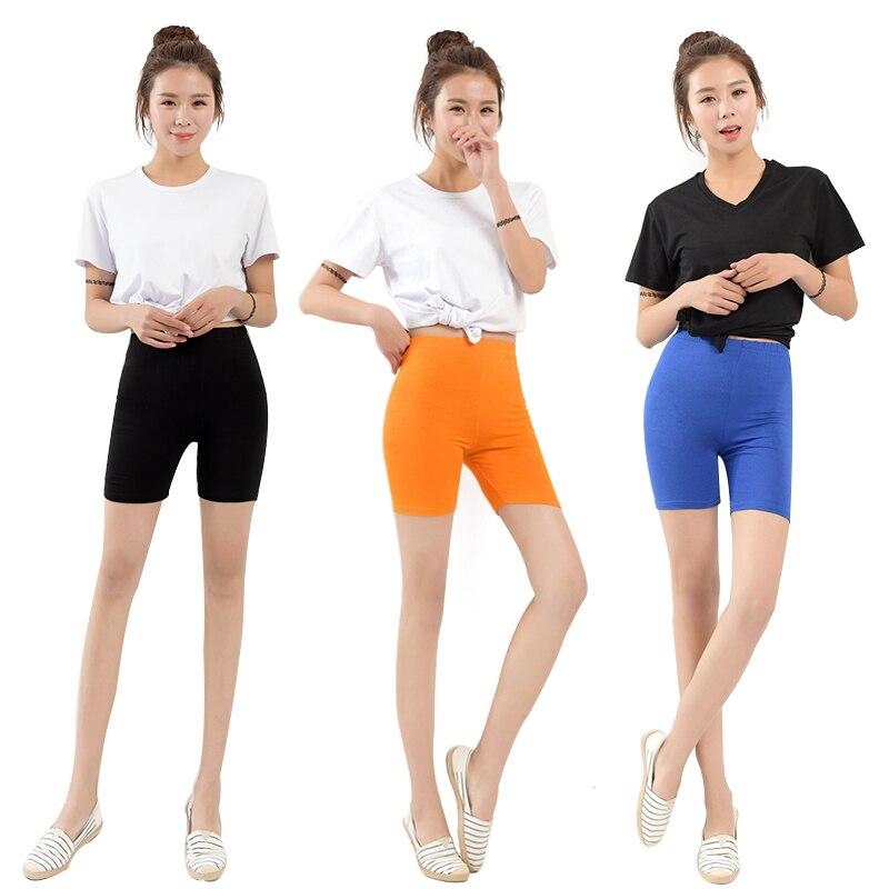 AZUE Women's Korte   Leggings   Basic   Leggings   Saftey Pants Plus Size Short   Leggings   High Elasticity Women   Leggings