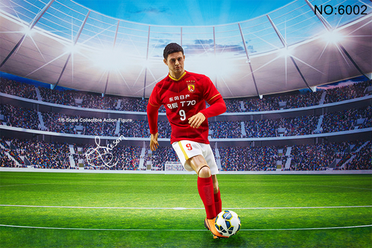 NEW 1//6 Football Star Elkeson Evergrande ELKESON Elkeson de Oliveira Cardoso
