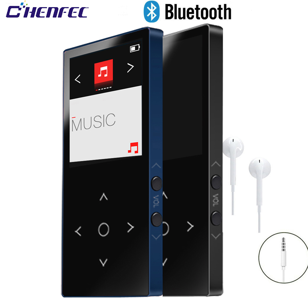 2018 new mini metal body movement MP4 player Bluetooth 8G original BENJIE K8 download portable music 1.8 inch MP4 music player image