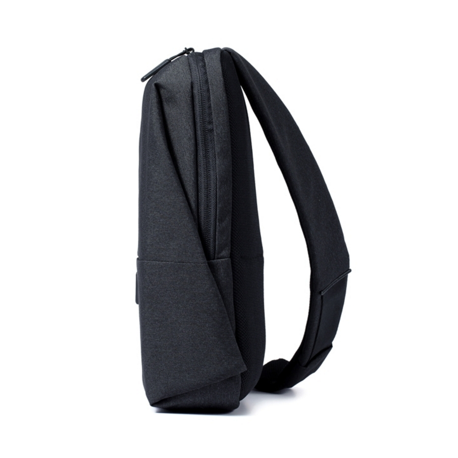 Xiaomi chest pack 4L capacity Backpack urban leisure Shoulder Type Unisex polyester material Smooth draw cord zippers design