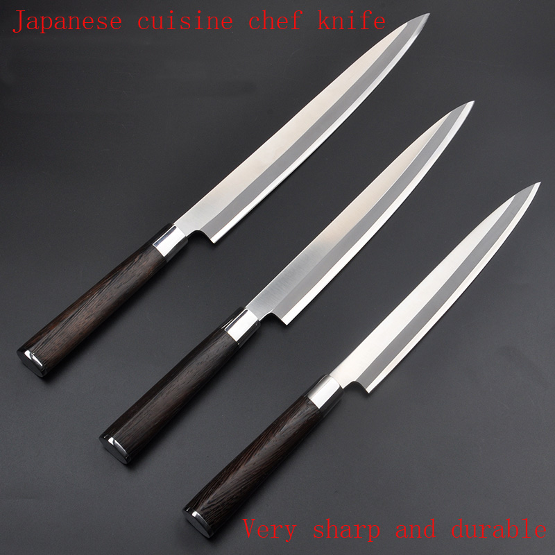 Free Shipping YILang stainless steel kitchen font b knife b font salmon sashimi raw fish fillet