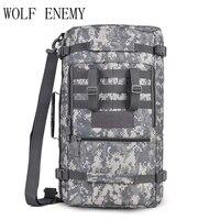 40L военный тактический рюкзак  походный рюкзак для кемпинга  сумка на плечо  мужской рюкзак для пешего туризма  рюкзак  рюкзак Mochila  уличные с...