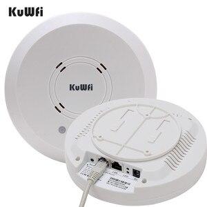 Image 2 - Kuwfi 300 Mbps Trong Nhà Treo máy Chiếu Không Dây Điểm Truy Cập Hệ Thống Điều Khiển Không Dây Router Dài Bảo Hiểm Cho Khách Sạn/Trường