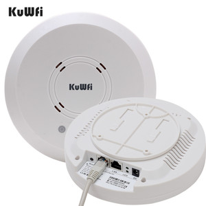 Image 2 - Kuwfi 300Mbps Indoor Ceiling Mount Wireless Access Point Controller System Wireless Router Long Coverage For Hotel/School