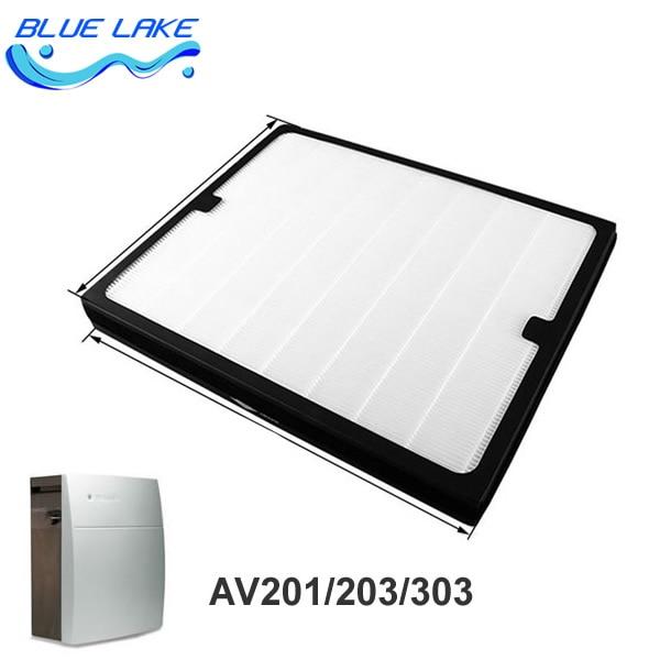 ФОТО Original OEM,200series Dust collecting filter /HEPA,For AV201/AV203/AV207E/AV303,size 450*368*45mm,air purifier parts