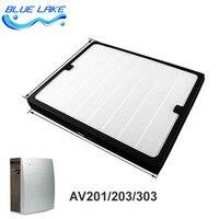 Original OEM,200series Dust collecting filter /HEPA,For AV201/AV203/AV207E/AV303,size 450*368*45mm,air purifier parts