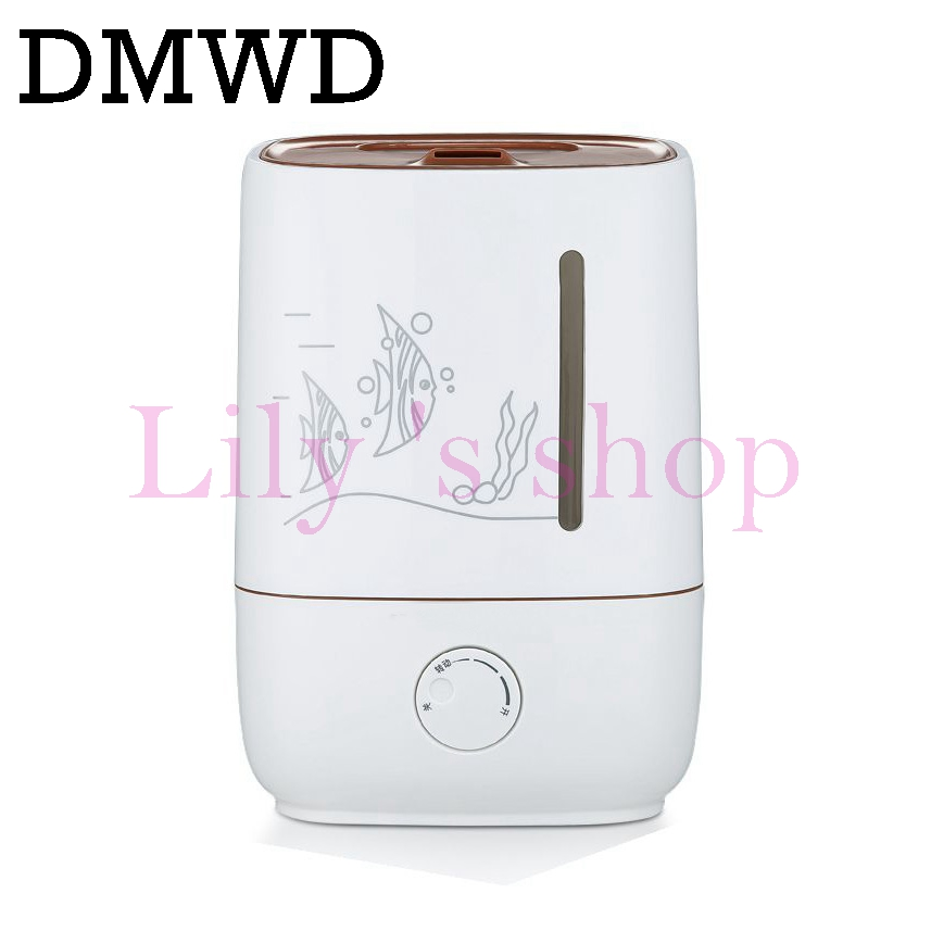 DMWD 3L Ultrasonic Humidifier Essential Oil mini portable Aromatherapy Mist Maker electric Air Diffuser Purifier Facial Steamer hot sale humidifier aromatherapy essential oil 100 240v 100ml water capacity 20 30 square meters ultrasonic 12w 13 13 9 5cm
