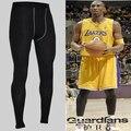 Cerca del hombre pantalones de entrenamiento de Baloncesto pro Atletismo Bodybuilding Correr velocidad hacer pantalones de alta elásticas Nueve pantalones parte 1020
