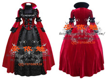 New Arrival Custom Made Gothic Victorian Ball Gowns Luxury Dress Cosplay Costume For Halloween