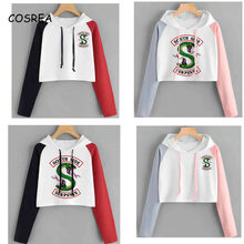 Riverdale Hoodie Sweatshirts South Side Serpents Streetwear Tops Spring Hoodies Female Hooded Harajuku Sweatshirt(China)