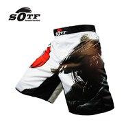 Nueva Negro Azul Rojo Transpirable Gimnasio de Boxeo Lucha Integral Ejercicio Tiger Muay Thai cortos de boxeo pretoriana shorts ropa