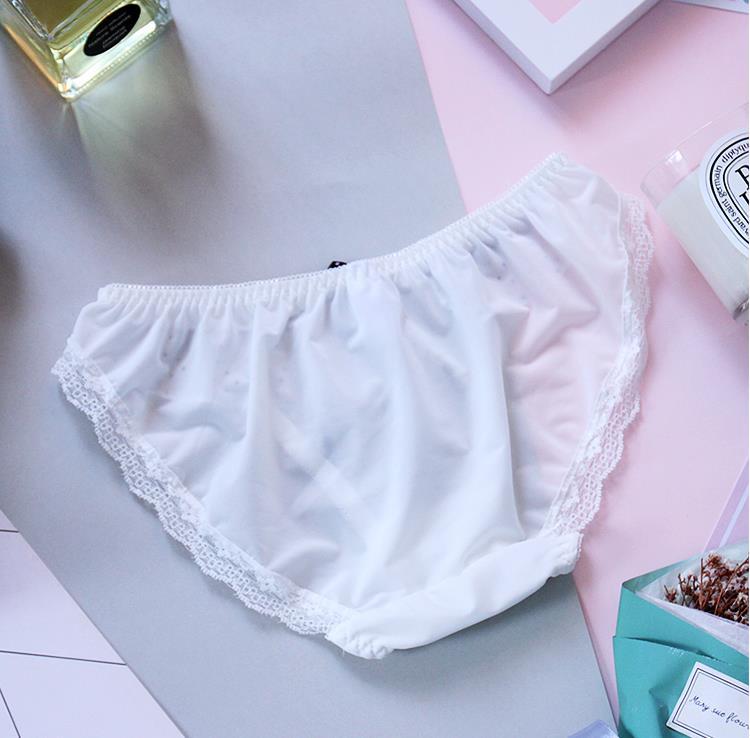 dc30cbb7b 2017 new Flash White Milk Silk Girl Women Underwear bragas mujer culotte  femme ondergoed dames slips tangas women panties-in women s panties from  Underwear ...