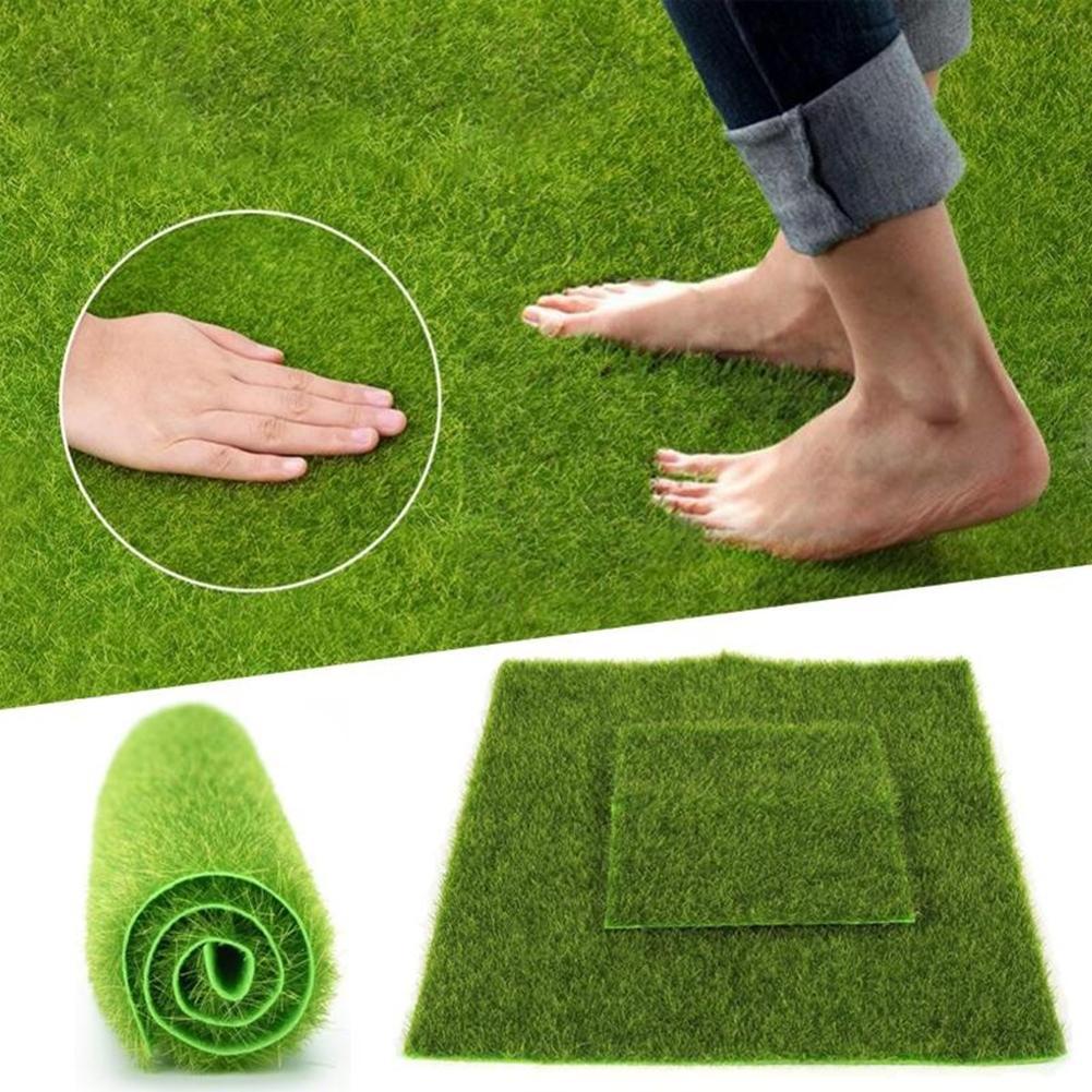 Synthetic Artificial Grass Mat Turf Lawn Garden Landscape Ornament