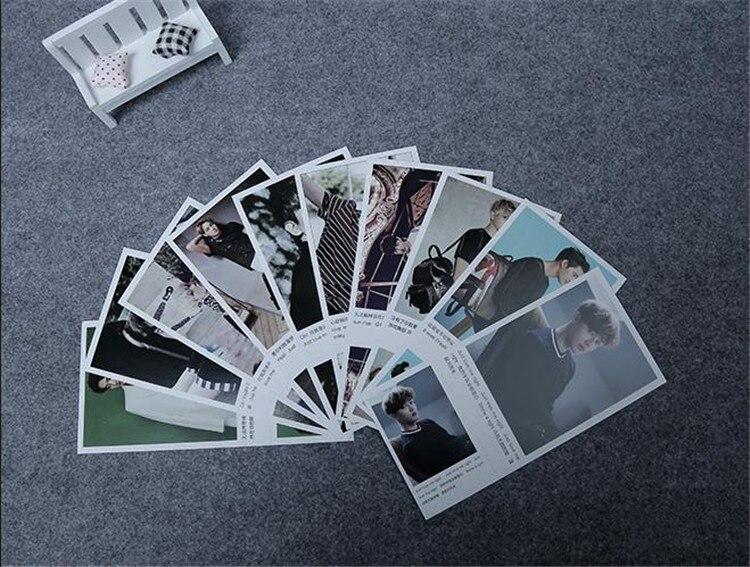 kpop EXO альбомы поют для вас набор 120 zhang+ 1 плакат kpop EXO lomo сувенирная наклейка почтовая подписка