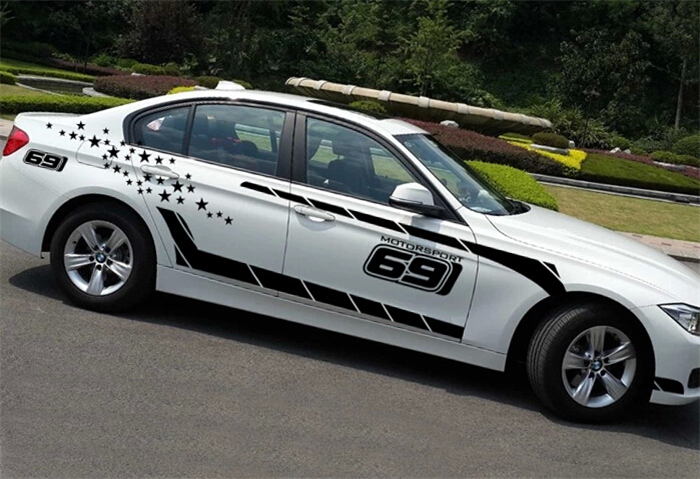 Popular Bmw Hood StickerBuy Cheap Bmw Hood Sticker Lots From - Bmw vinyl stickers