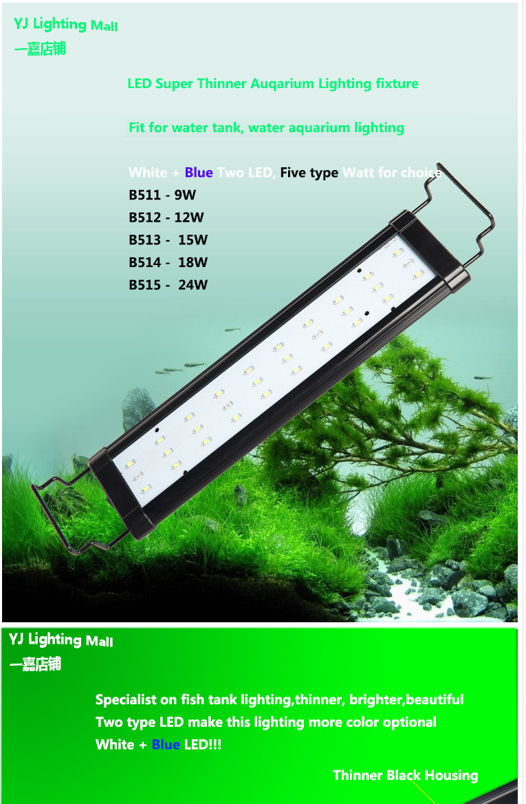 Fish tank lights for sale - Best Sale Aquarium Lamp Diy Kits 55cm 24w Led Fish Tank Plant Aquarium Led Light