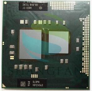 Intel Core I5 430m SLBPN cpu 3M/2.26GHz/2533 MHz/Dual-Core Laptop processor I5-430M Compatible PM55 HM57 HM55 QM57