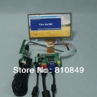 HDMI VGA 2AV Reversing Driver Board 7inch AT070TN92 800 480 With Touch Panel