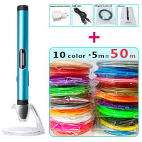 Free To Send The Latest 3D Pen 3D Graffiti Pen Three Dimensional Painting Creative Children S
