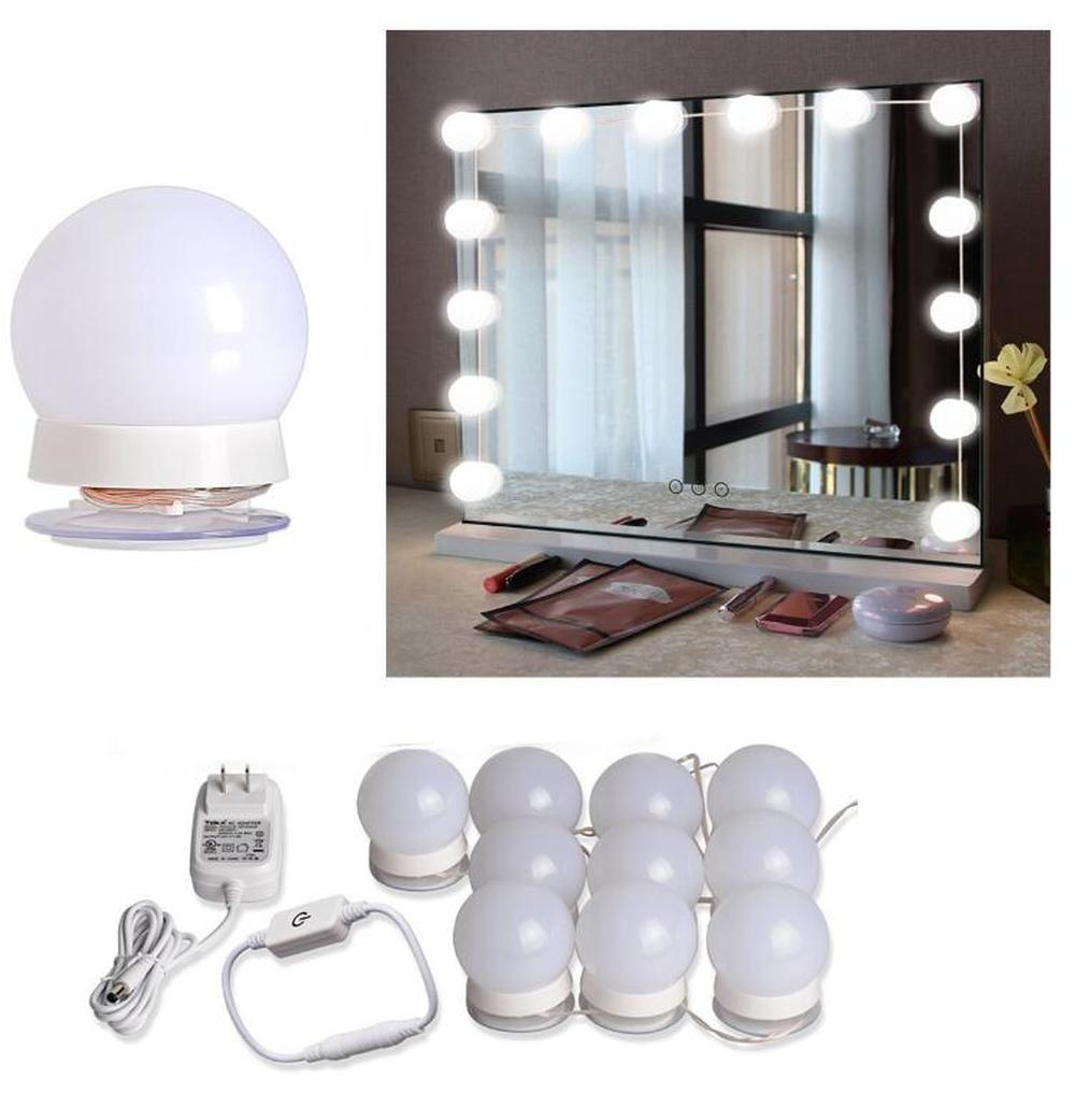 NEW Dimmable LED Mirror Light Hollywood Style Bathroom ...