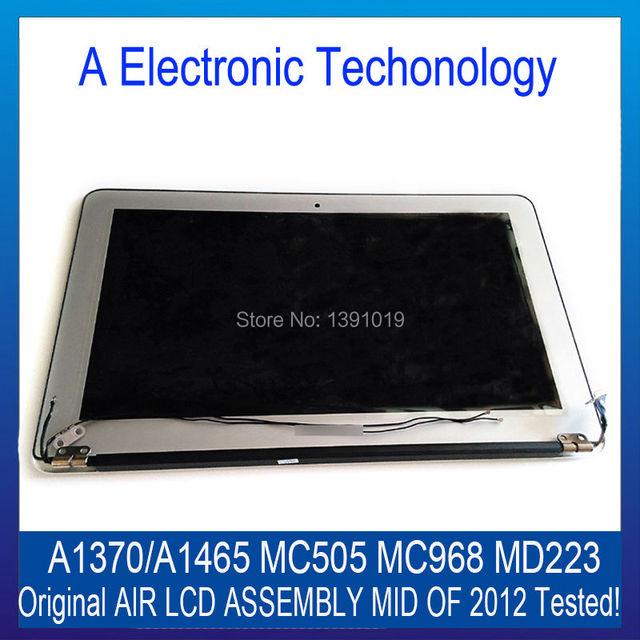 "Новый 100% Оригинал Mid 2012 Для Apple MacBook Air 11 ''6"" A1370 A1465 ЖК-Экран Ассамблея MC505 MC968 MD223 6 Pin"