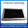 "Novo 100% original meados de 2012 para apple macbook air 11 ''. 6"" A1370 A1465 LCD Screen Display Assembléia MC505 MC968 MD223 6 Pin"