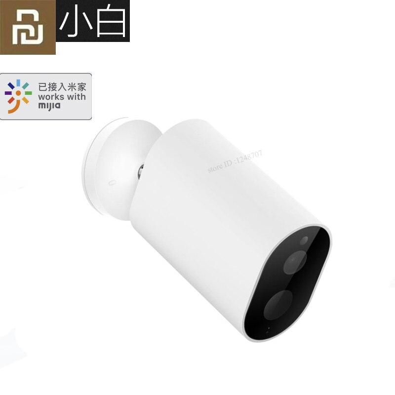 Xiaomi originais Gateway CMSXJ11A Mijia Bateria Da Câmera Inteligente 1080P 120 Graus F2.6 AI Humanóide Detecção IP Câmeras Sem Fio Cam