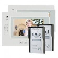 """7 """" TFT LCD Video videoportero Intercom timbre Home Security Monitor de la cámara visión nocturna 2V2"""